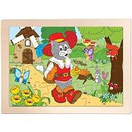 Woody Puzzle Csizmás kandúr - Puzzle