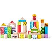 Woody Színes Építőkocka készlet - Építőjáték