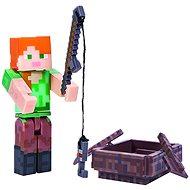 Minecraft Alex csónakkal - Figura