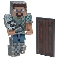 Minecraft Steve láncpáncélban - Figura