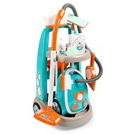 Smoby Kocsi porszívóval kis takarítónőknek - Játék porszívó