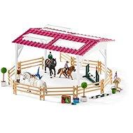 Schleich lovasiskola figurákkal és lovakkal - Játék szett