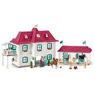Schleich 42416 Nagy ház istállókkal és kiegészítőkkel - Játék szett