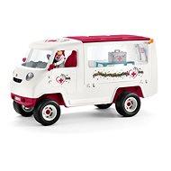 Schleich Mobil állatorvosi klinika kancával és ápolóval - Játék szett