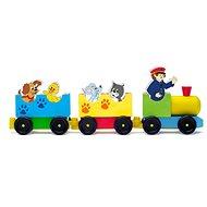 Woody Vonat állatokkal - Vonat