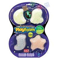PlayFoam Gyöngy 4pack - világító - Gyurma