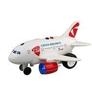 CSA repülőgép a kapitány és a légiutas-kísérő bejelentéseivel - Repülőgép