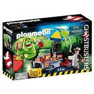Playmobil 9222 Ghostbusters Slimer a hotdog standján - Építőjáték
