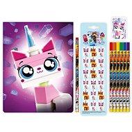 LEGO Movie 2 Stationery Készlet jegyzetfüzettel Csoda Kitty - Iskolai felszerelés