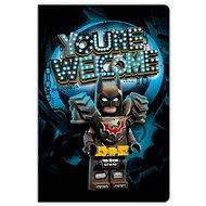 LEGO Movie 2 Batman - Jegyzetfüzet - zsebkönyv