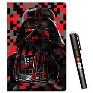 LEGO Star Wars jegyzetfüzet láthatatlan tollal - zsebkönyv