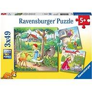Ravensburger 080519 Piroska és a farkas - Puzzle