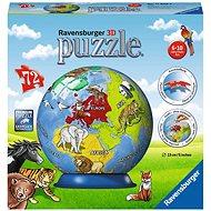 Ravensburger 118403 Földgömb gyerekeknek - Puzzle