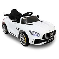 Mercedes-Benz GTR fehér - Elektromos autó gyerekeknek
