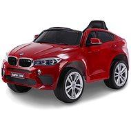 BMW X6M NEW - együléses, pirosra lakkozott - Elektromos autó gyerekeknek