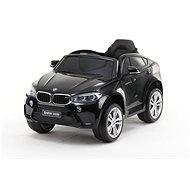 BMW X6M NEW - egyszemélyes, fekete lakkozott - Elektromos autó gyerekeknek