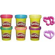 Play-Doh Csillogó készlet 6db - Kreatív játék