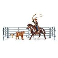 Figura Schleich 41418 Cowboy lovon lasszóval és tartozékok