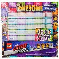 LEGO Órarend matricákkal - Iskola eszköz