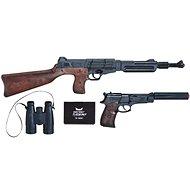Top Secret rendőrségi készlet, patronos - Játékfegyver