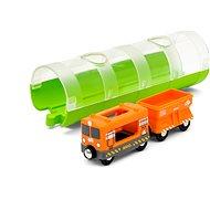 Brio World 33891 Alagút és tehervonat - Vasútmodell kiegészítő