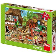 Dino Kisvakond a konyhában (100 darabos puzzle) - Puzzle