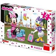 Dino Minnie Párizsban (24 darabos) - Puzzle