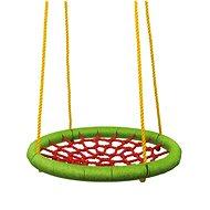 Woody Fészekhinta (átmérő 83 cm) - zöld-piros - Hinta