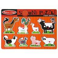Melissa-Doug állatok a farmon - Puzzle