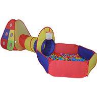 Sátor alagúttal és színes gömbökkel - Gyereksátor