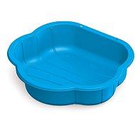 Dolu homokozó - műanyag kagyló, kék - Homokozó