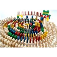 EkoToys Domino színes 830 db - Dominó