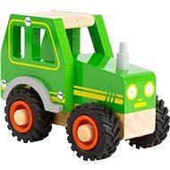 Small Foot Traktor - zöld - Fajáték