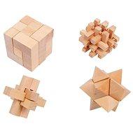 Small Foot geometriai rejtvények 4 db - Fejtörő