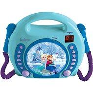 Lexibook Frozen CD lejátszó mikrofonnal