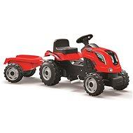 Smoby Farmer XL piros traktor - Pedálos traktor