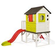 Smoby házikó pilléreken csúszdával - Játszótér kiegészítők