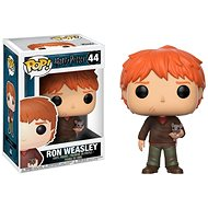 Funko Pop! Movies: Harry Potter - Ron Weasley és Scabbers a patkány - Figura