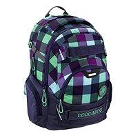 Coocazoo JobJobber2 Green Purple District - Iskolatáska