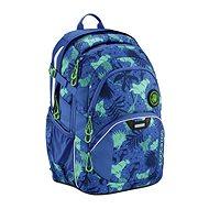 Coocazoo JobJobber2 Tropical Blue - Iskolatáska