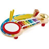 Hape Multifunkciós xilofon dobbal - Zenélő játék