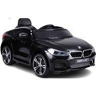 BMW 6GT, fekete - Elektromos autó gyerekeknek