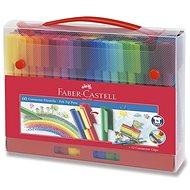 Faber-Castell Connector összekapcsolható filctoll készlet, 60 szín - Írószer készlet