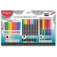 Maped Colouring, 33 db - Művész kellék