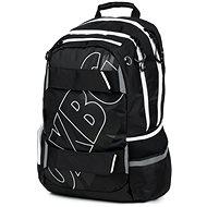 OXY Sport Black Line, fehér - Iskolatáska