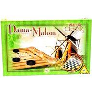 Dáma & Malom - Stratégiai játék