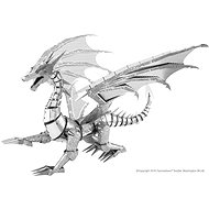 Metal Earth BIG Silver Dragon ICONX - Autó