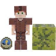 Minecraft Alex bőr páncélban - Figura