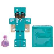 Minecraft Steve láthatatlanná tevő itallal - Figura