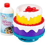 Fru Blu buborékfújó torta - Buborékfújó